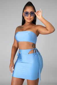 Peek A Boo Skirt Set