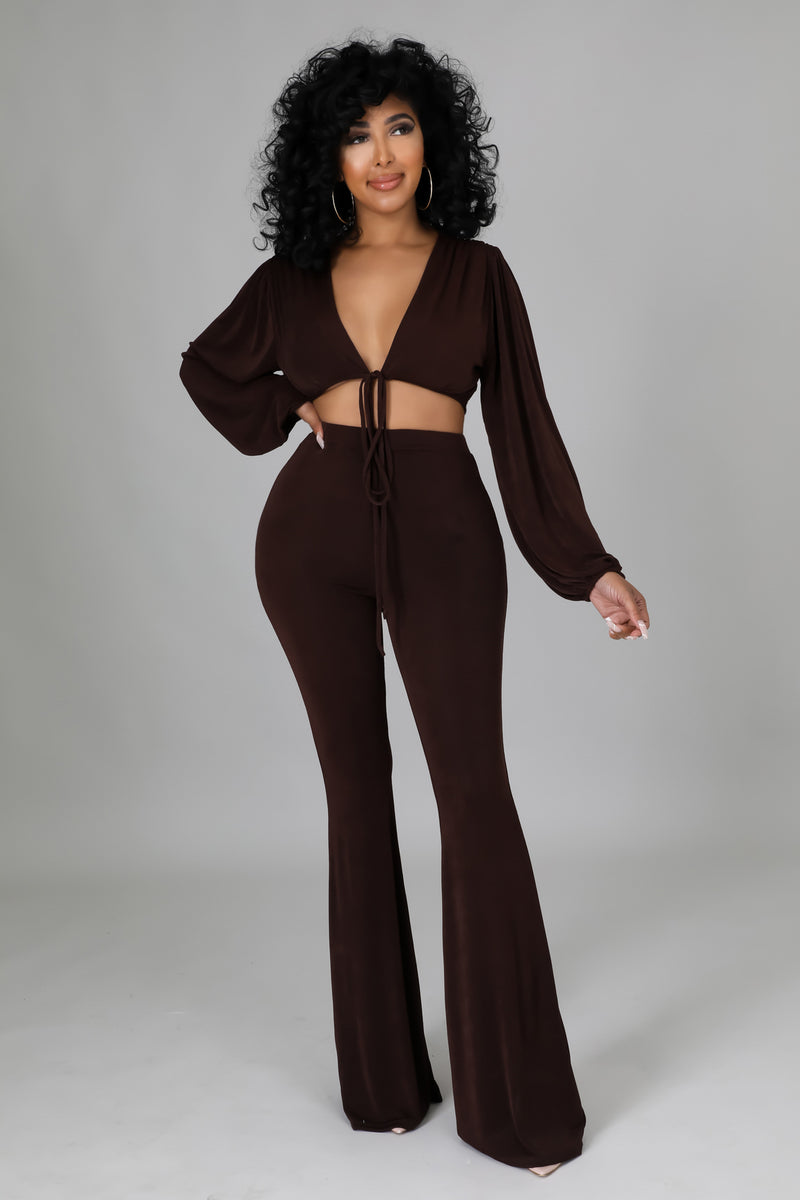 Sheer Scrunched Jumpsuit