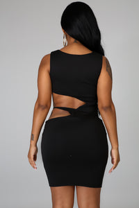 Cut Out Body-Con Dress