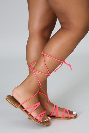 Too Cute To Care Sandal