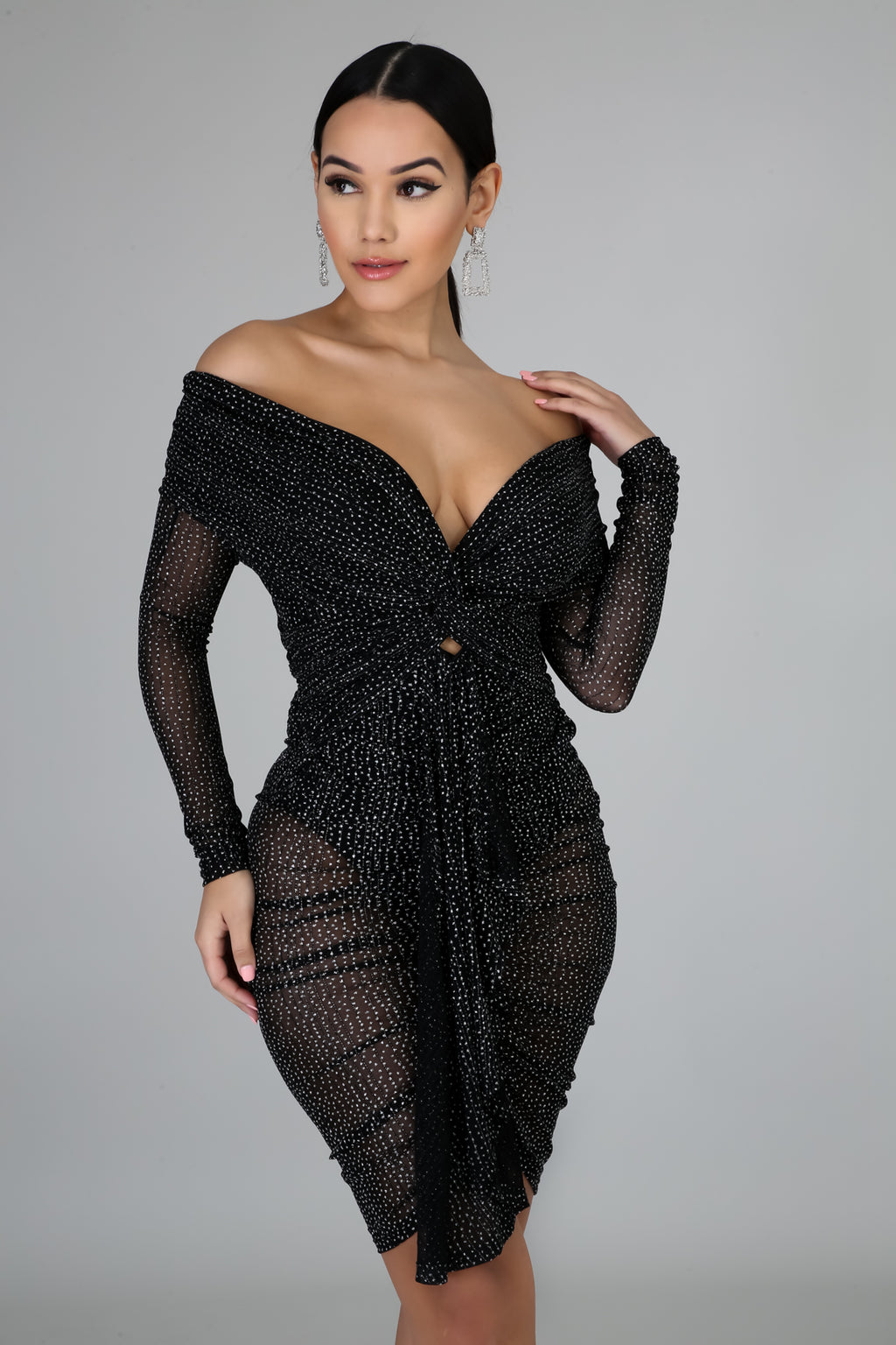Night Sparkle Dress | GitiOnline