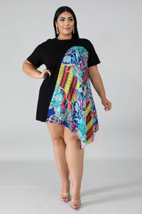 Flare Silky Filigree Tunic | GitiOnline