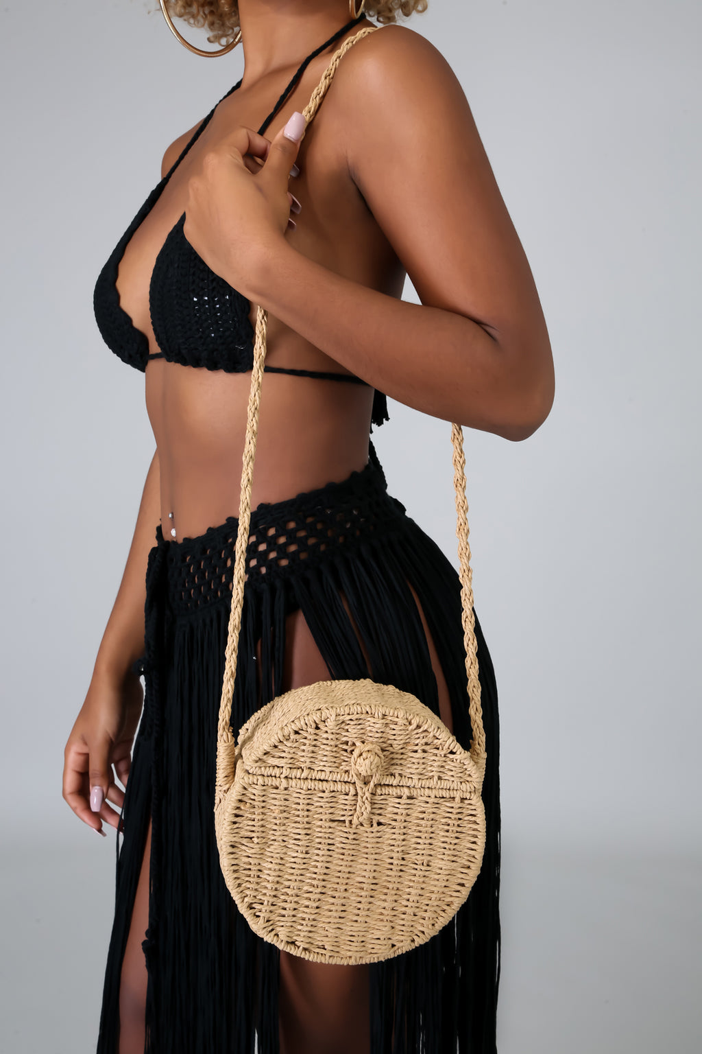 Bali Island Straw Bag | GitiOnline