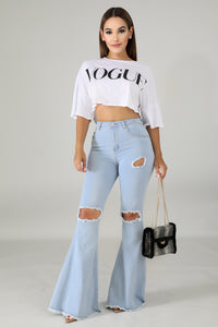 Vogue Crop Top | GitiOnline