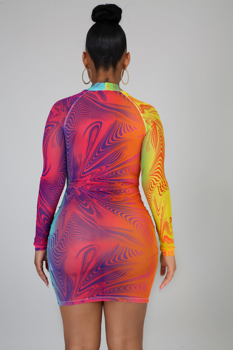 Swirl Vibes Dress