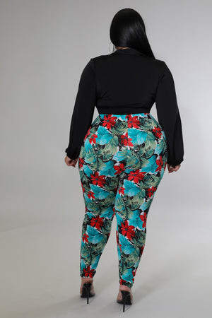 Golden Leaves Wrap Dress | GitiOnline