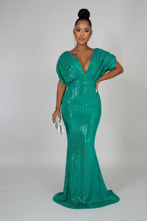 Mermaid Night Shine Dress | GitiOnline