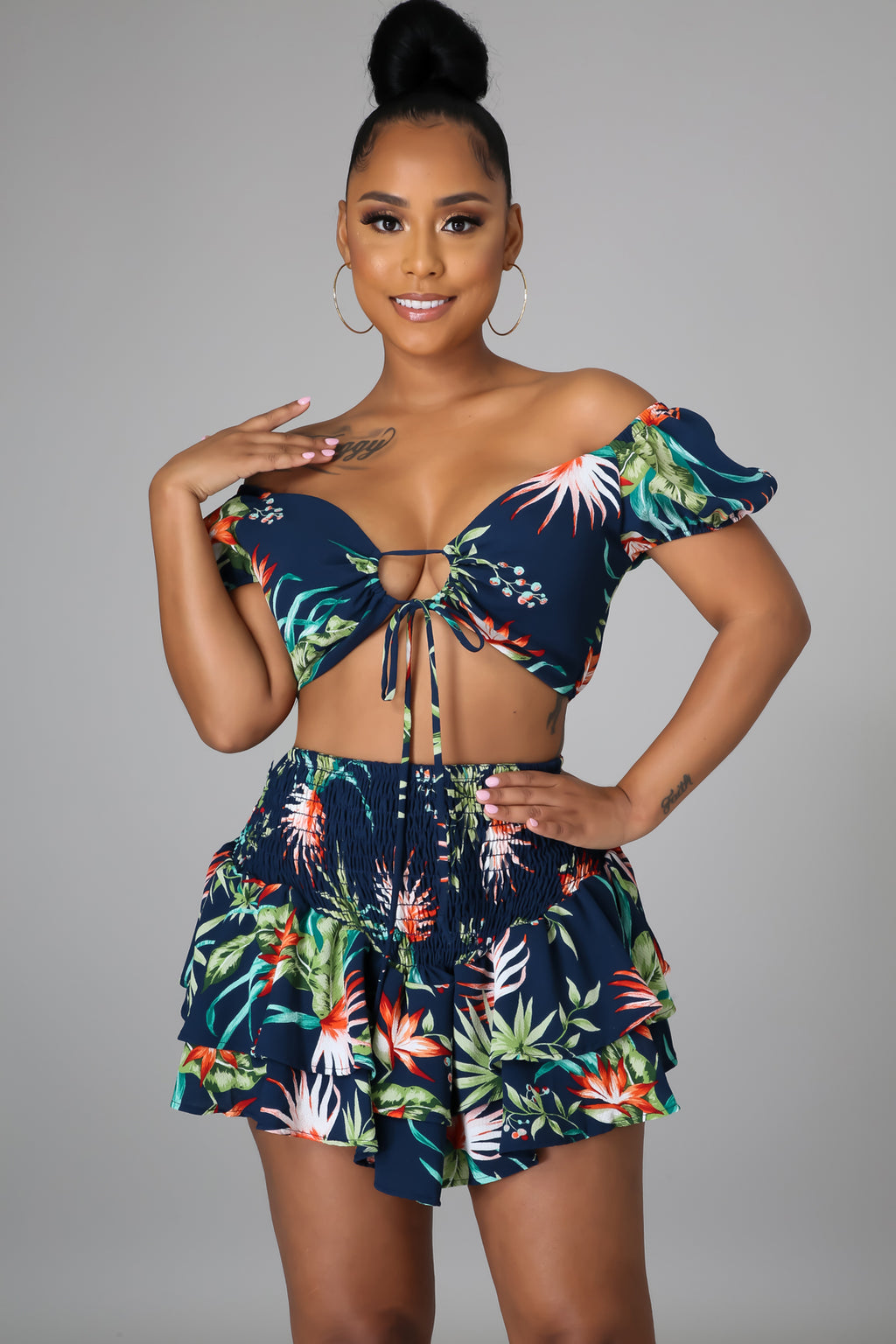 Hawaiian Nights Skirt Set