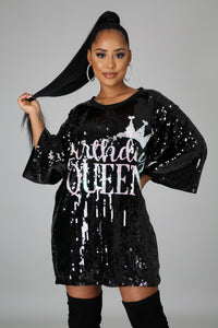 Birthday Queen Tunic Top