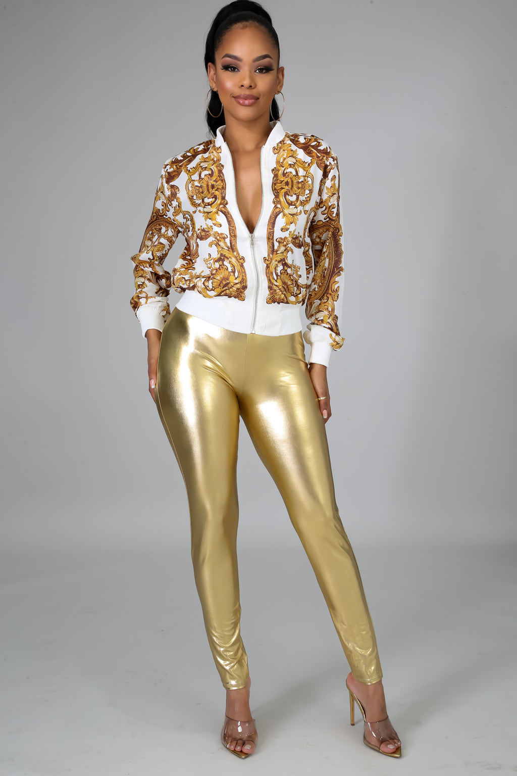Biker Leatherette Pants | GitiOnline