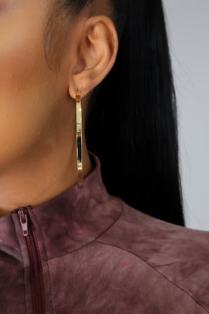 Wife Material Hoop Earrings
