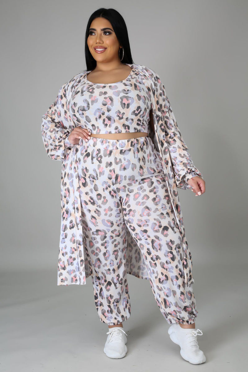3pc Cross Your Mind Pant Set