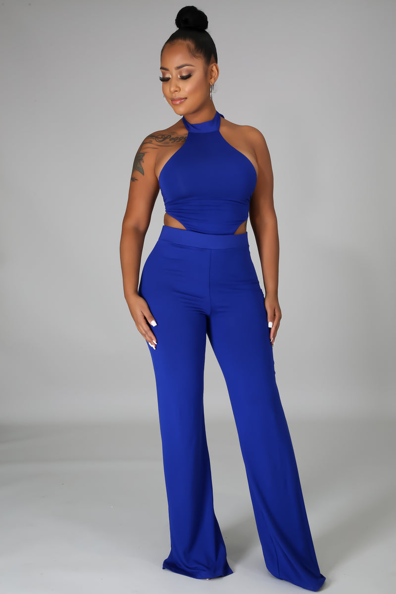Cut It High Jumpsuit