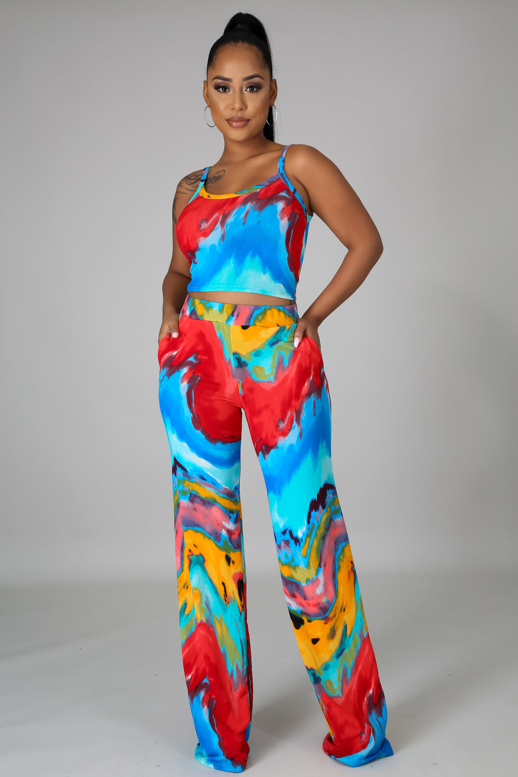3pc We Found Love Pant Set
