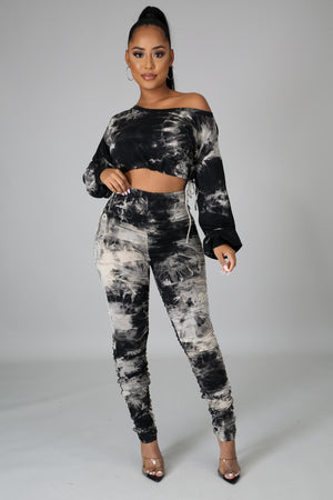 Walk A Mile Legging Set