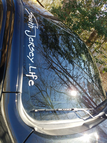 Long South Jersey Life decal