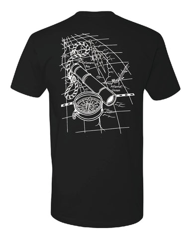South Jersey nautical map - Men's t-shirt