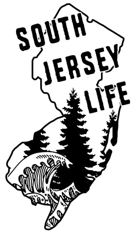 South Jersey Life decal - Woods & Waves