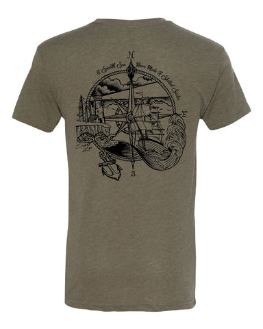 Smooth Seas - Men's t-shirt