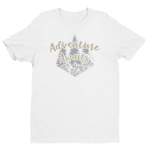 Adventure Awaits men's t-shirt
