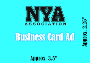 (B)Business Card Happy Ad