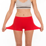 G3 Ladies High Waist Microfibre Boxer Shorts
