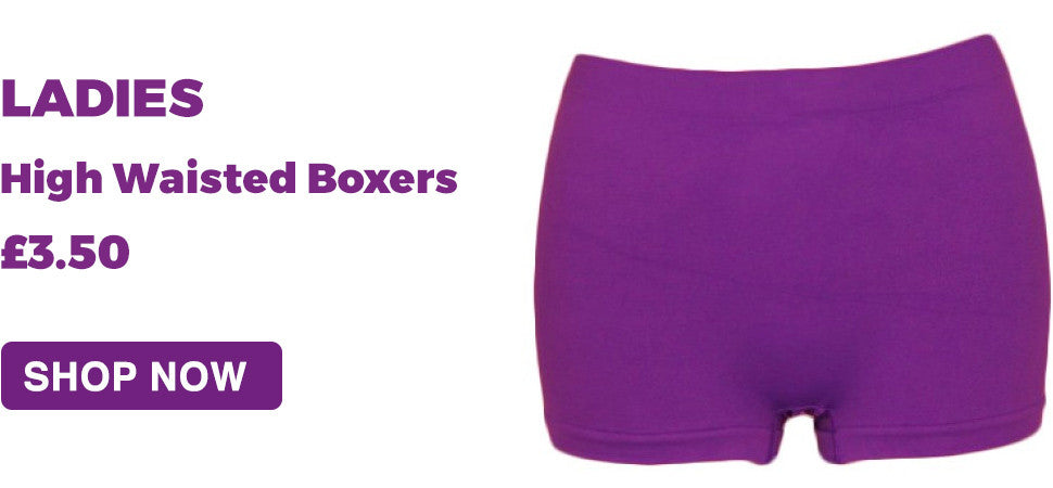 ladies high waistes boxer short