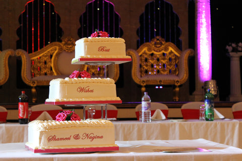 3 Tier Step Stand Cake Code W11