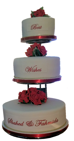 3 Tier Icing Cake Code W37