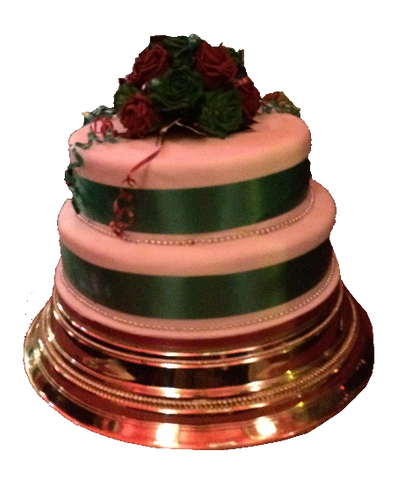 2 Tier Icing Cake Code W41