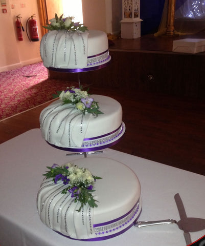 3 Tier Step Stand Cake Code W66