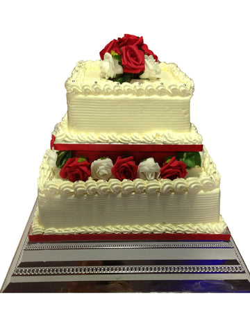 2 Tier Tower Cake Code W01
