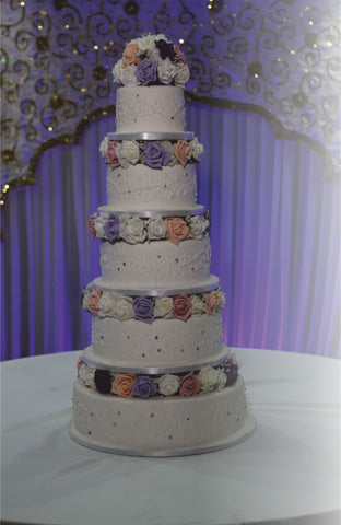 5 Tier Tower Cake Code W107