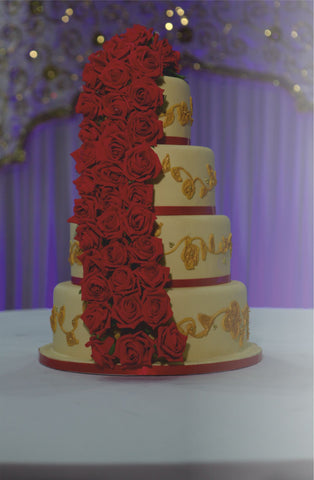 4 Tier Tower Cake Code W108