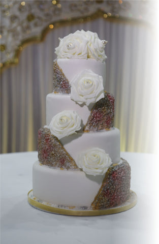 4 Tier Tower Cake Code W109