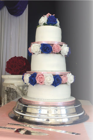 3 Tier Tower Cake W87