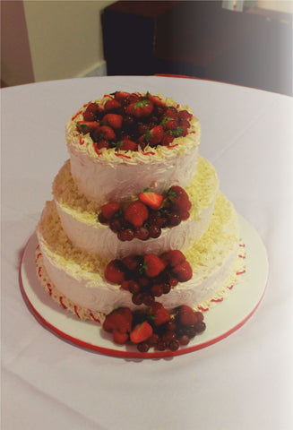 3 Tier Tower Fruit Cake Code w91