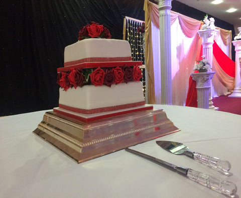 2 Tier Tower Cake Code W95