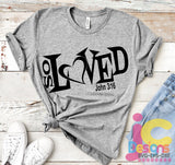 So Loved SVG, EPS, DXF and PNG - JenCraft Designs
