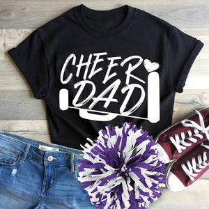 Cheer Dad Biggest Fan SVG, EPS, DXF and PNG - JenCraft Designs