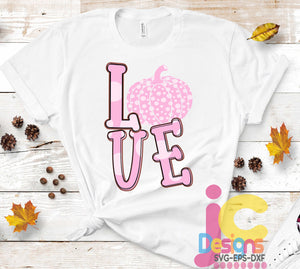 In OctoBer we wear PINK Sublimation Design SVG, EPS, DXF and PNG - JenCraft Designs