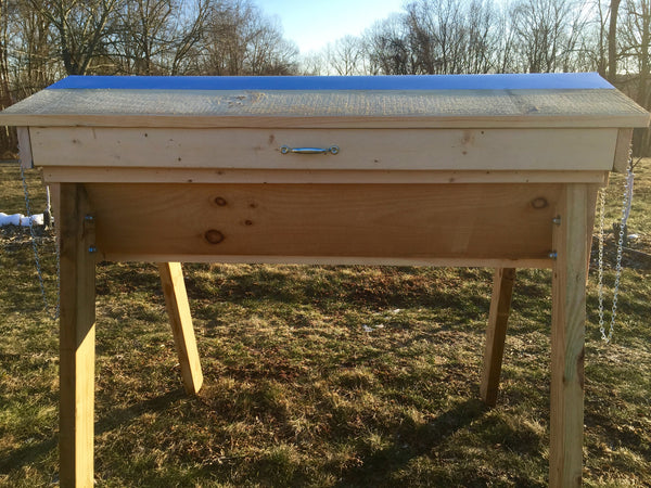 Tri Gable Lea Top Bar Honey Bee Hive Complete Kit