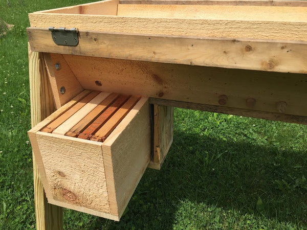 Nuc Up - Transfer 5 Frame Langstroth Nuc to Top Bar Hive ...