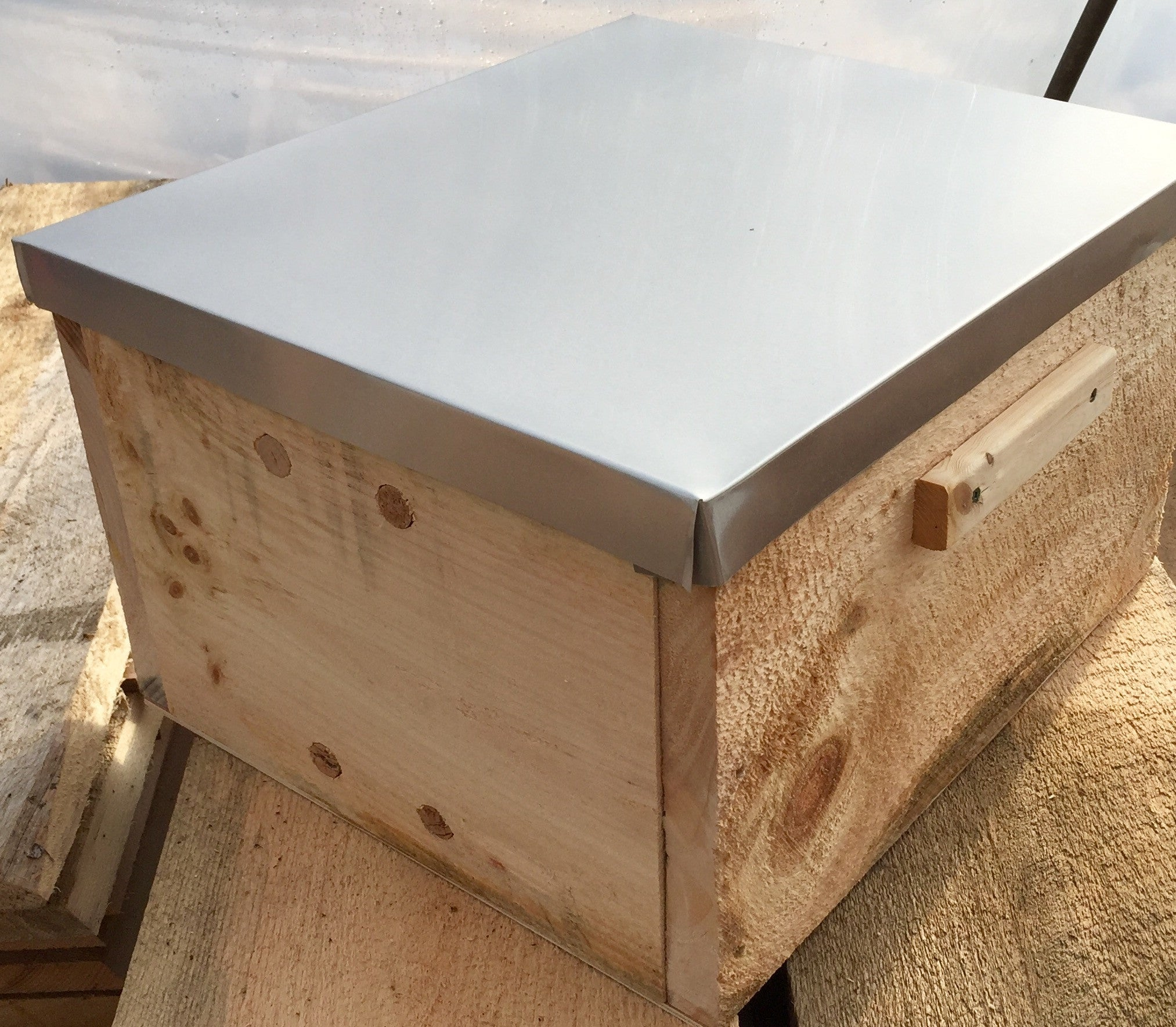 Nuc Over - Transfer 5 Frame Langstroth Nuc to Top Bar or Warré Hive