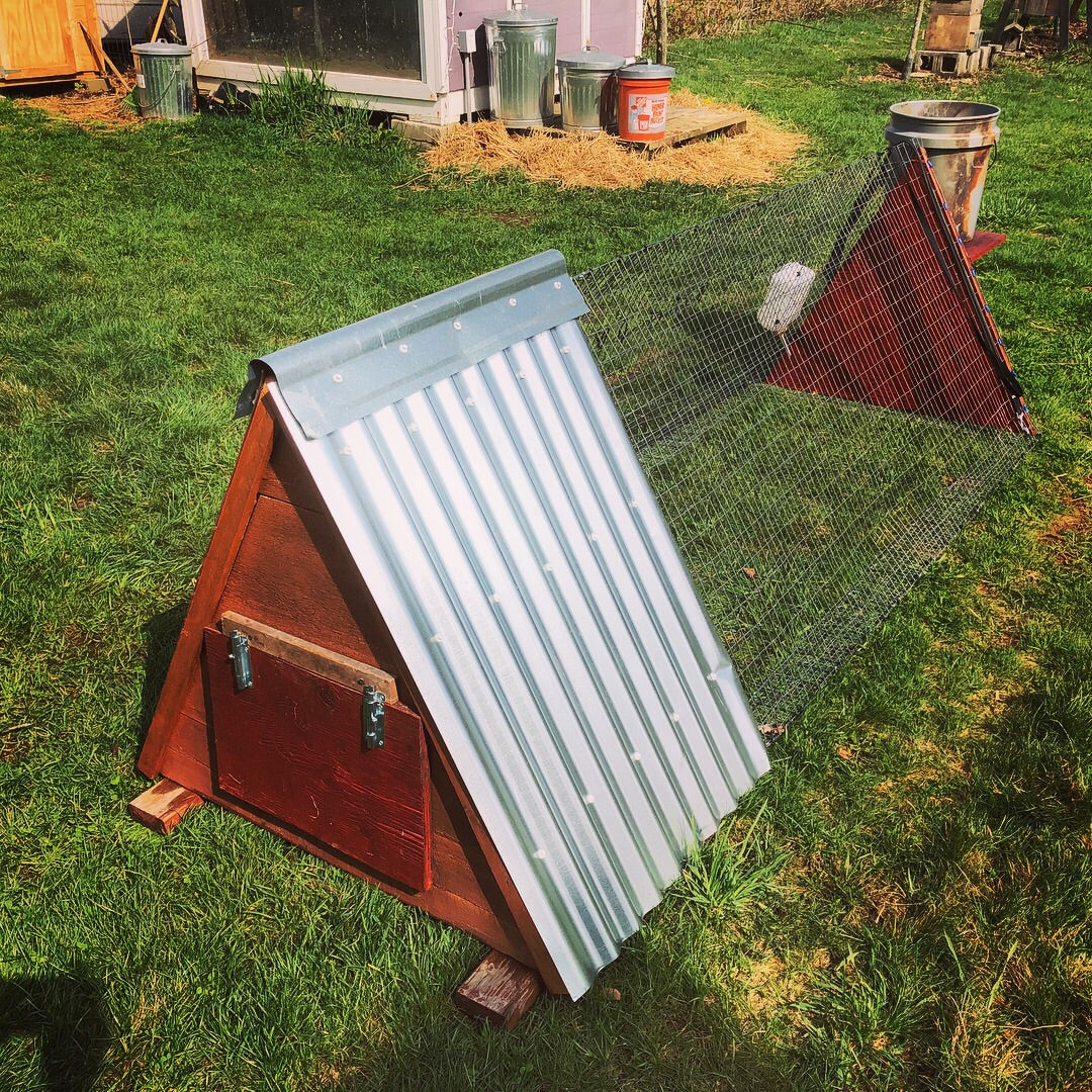 Pasture Tractor - Rabbit & Chicken 3 season portable shelter