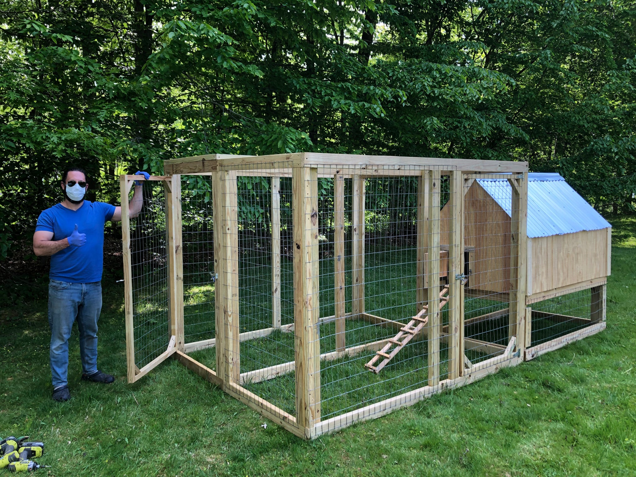 Framed Chicken Run Kits! - New in 2020!