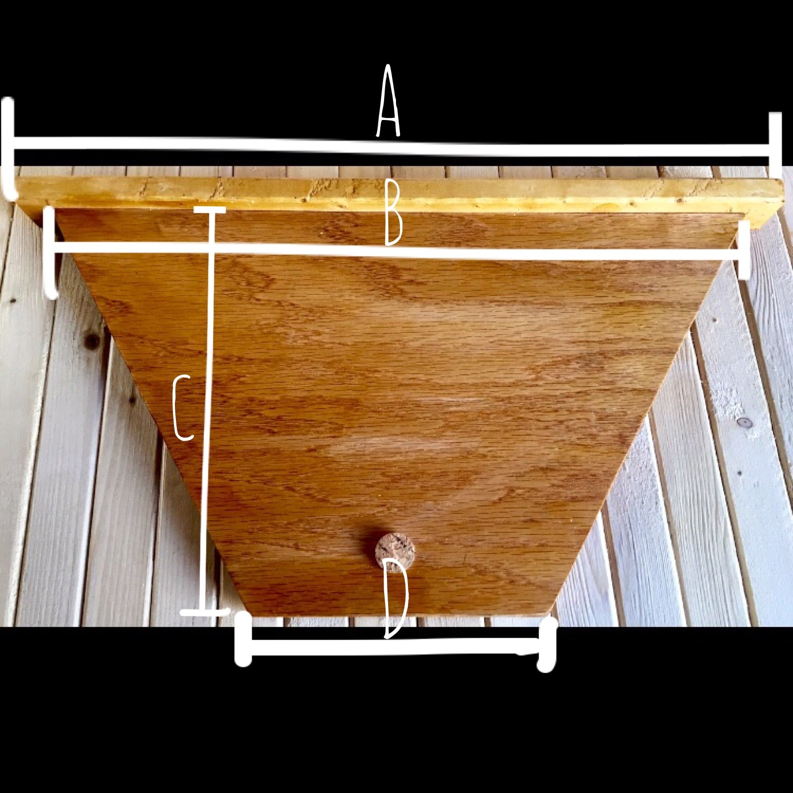 "Tri Gable Lea 19"" Feeding Frame Top Bar"
