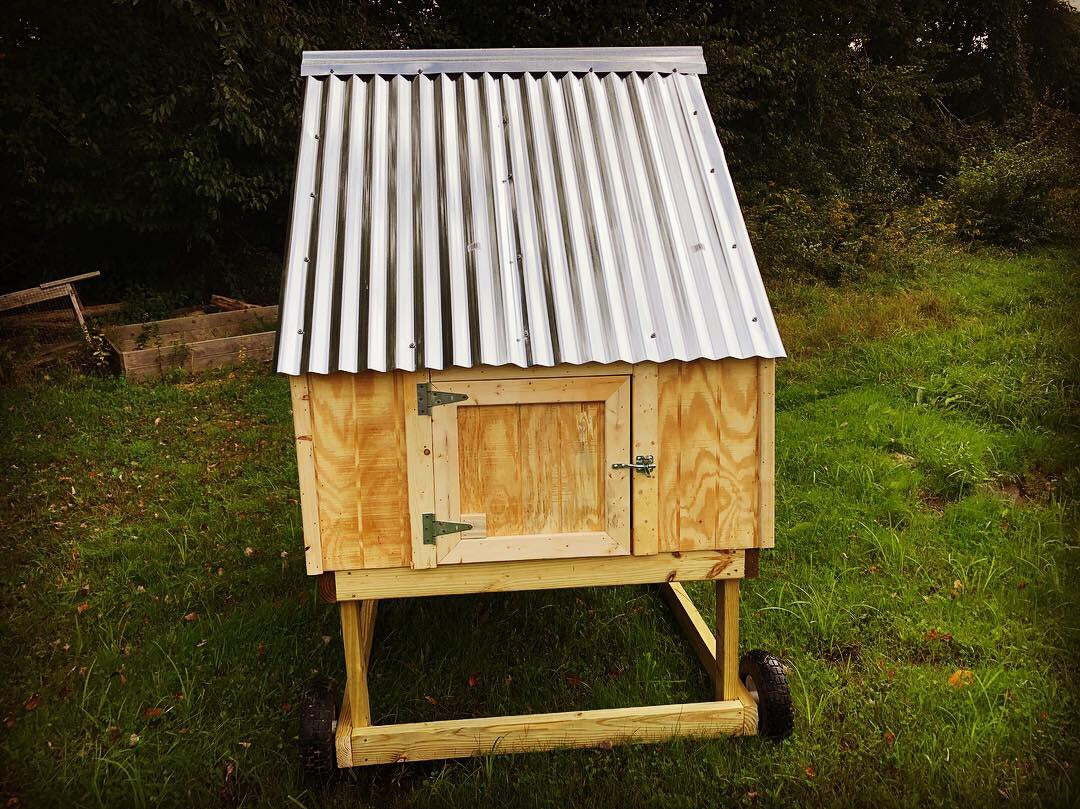 The Cape Chicken Coop or Tractor