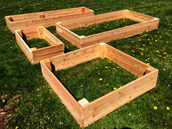 Cedar Raised Bed Frames