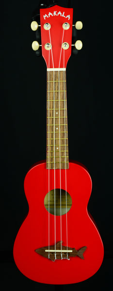 KALA MAKALA SHARK Series Ukuleles Model: MK-SS/RED